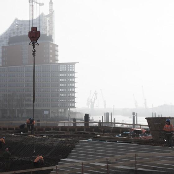 Hafen, Bau und Landungsbrücken II